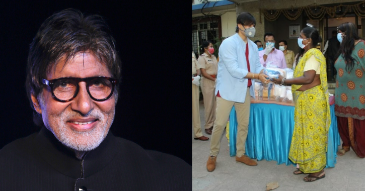 Amitabh Bachchan and Vivek Oberoi / Indiatimes