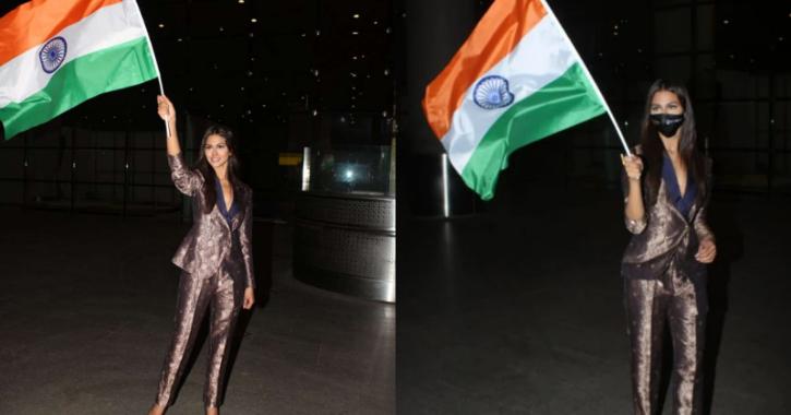Adline Castelino returns to India / Viral Bhayani