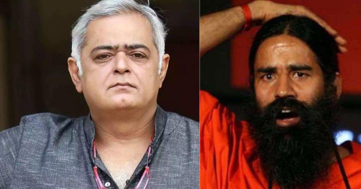 Hansal Mehta and Baba Ramdev / Indiatimes