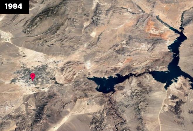 Urbanization in the Arizona Desert, USA: Las Vegas