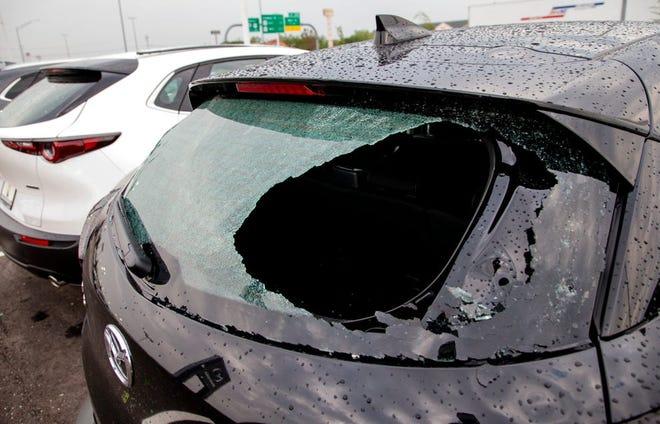 Oklahoma hailstorm