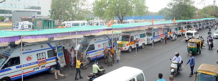 Gujarat covid