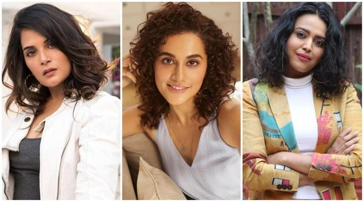 Richa Chadha, Taapsee Pannu, Swara Bhasker / Indiatimes