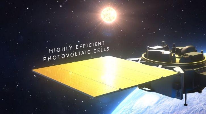 Space solar energy