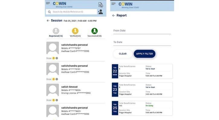 cowin bots registration