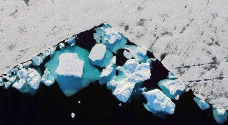 Mencairnya lapisan es Greenland