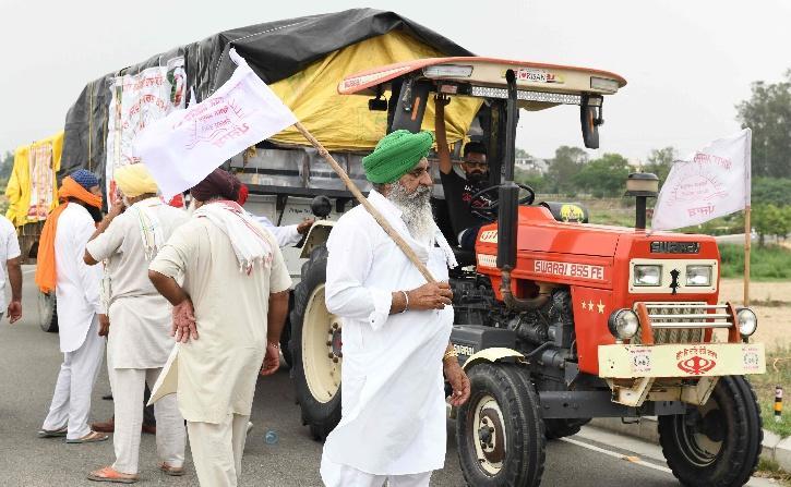 Farmers Protest COVID-19