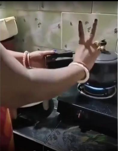 Chapati on pressure cooker