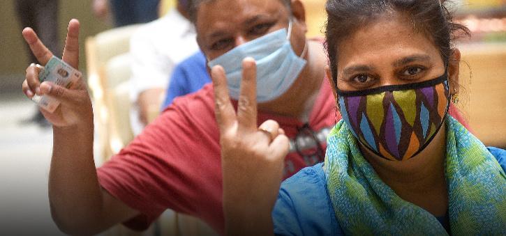 Vaccination drive Delhi