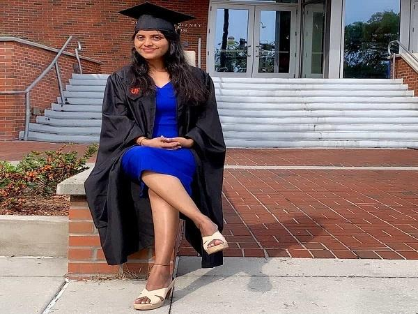 Deepthi has received the highest annual salary package among the 300 students who got placed during the campus interview at The University of Florida.