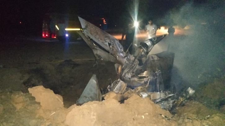 MIG-21 Bison Crash Moga Punjab