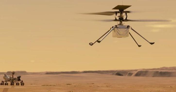 NASA Perseverance rover 3d
