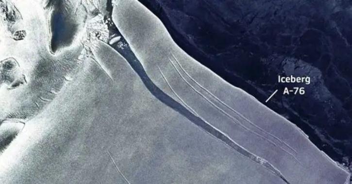 A-76 iceberg antarctica