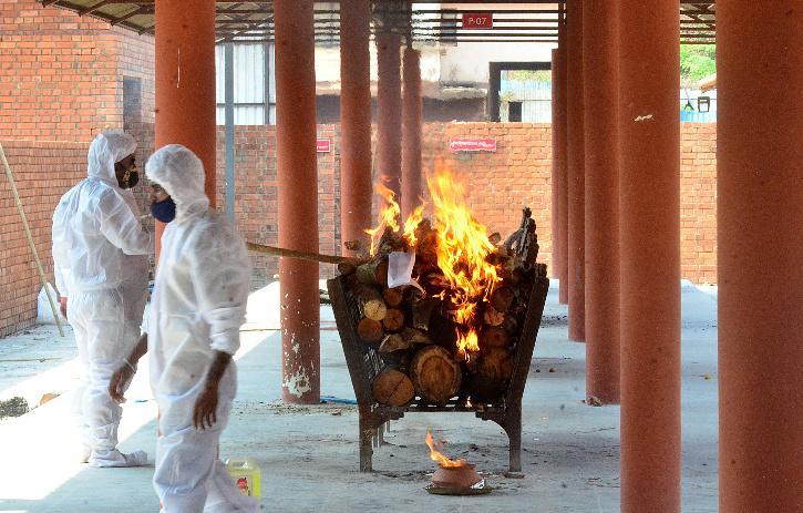 Goa crematorium