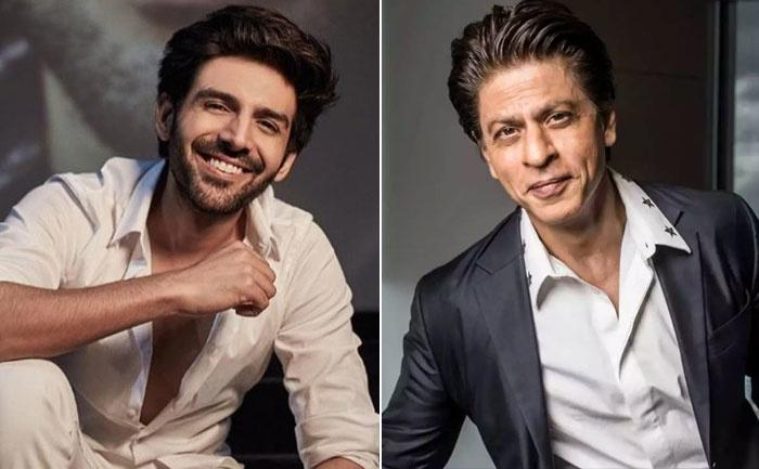 Shah Rukh Khan and Kartik Aaryan / Indiatimes