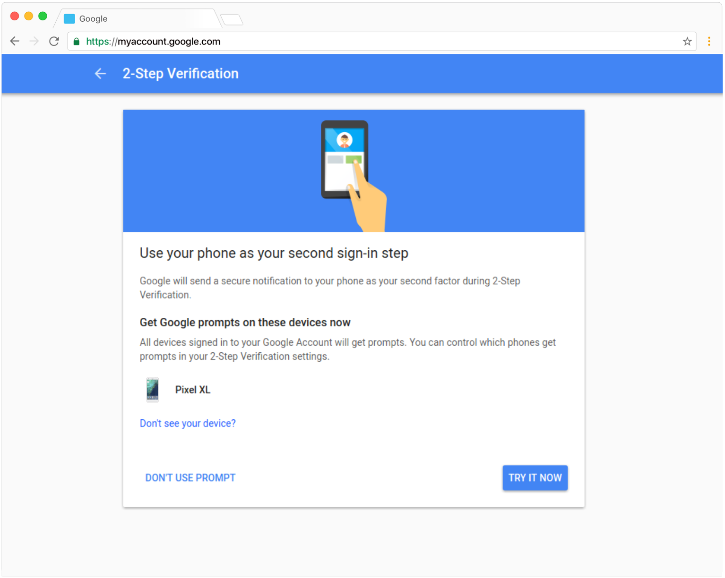 Google Is Switching On Two-Factor Authentication By Default