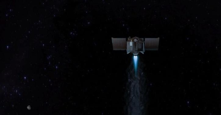 NASA Spacecraft Carrying Asteroid Sample Heads Back Home