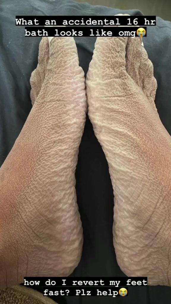 danalee's feet
