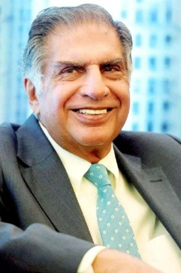 Ratan Tata smiling