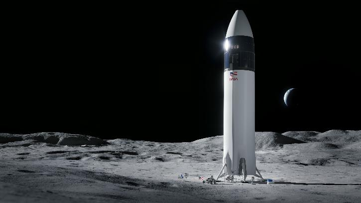 Starship will also fly on two missions for NASA. The first one will be a test flight and the second to carry two astronauts to the lunar surface in 2024 as part of the Artemis mission.