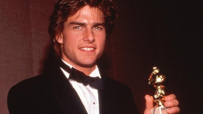 Tom Cruise won the Golden Globe in 1990 for