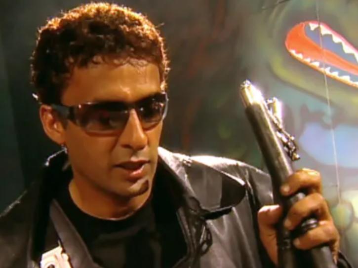 Mamik Singh as Vikraal in TV show Ssshhhh...Koi Hai in 2002.