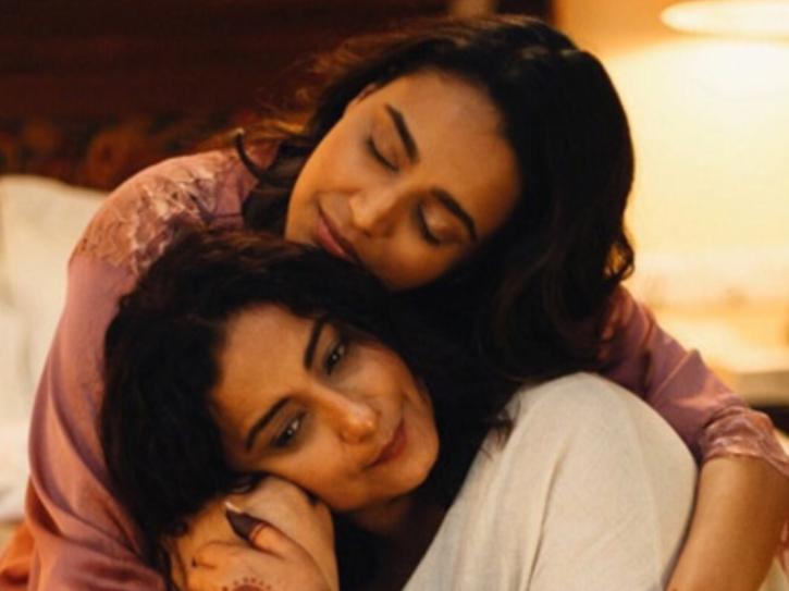Swara Bhasker, Divya Dutta in Sheer Qorma.