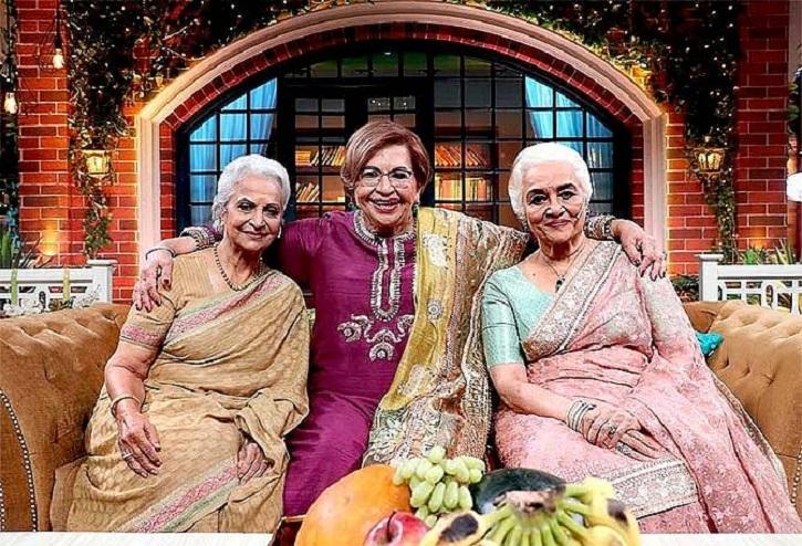 Waheeda Rehman, Asha Parekh and Helen
