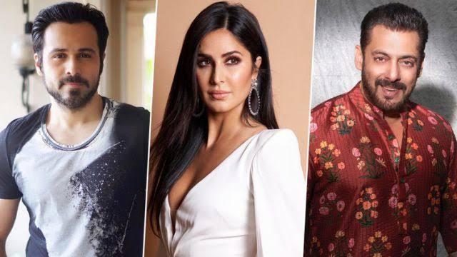 Emraan Hashmi, Katrina Kaif and Salman Khan / Indiatimes