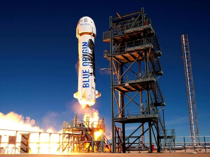 Jeff Bezos' Blue Origin Plans Space Tourism Trip In July