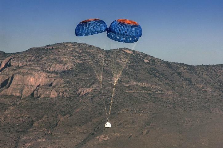 Passengers will experience about three minutes of weightlessness at the top of the climb, before dropping back down to the ground under three parachutes
