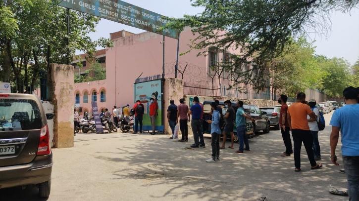 centre vaccine chhattarpur