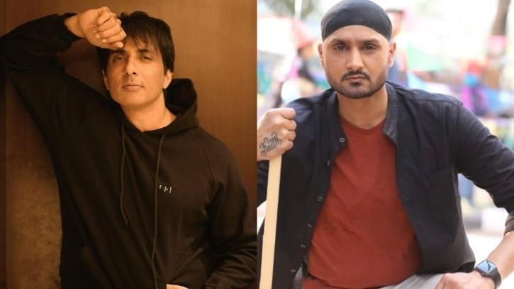 Sonu Sood and Harbhajan Singh / Indiatimes