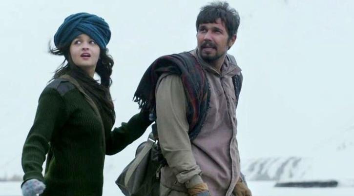 Randeep Hooda and Alia Bhatt in Highway / Twitter