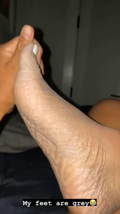 danalees grey feet