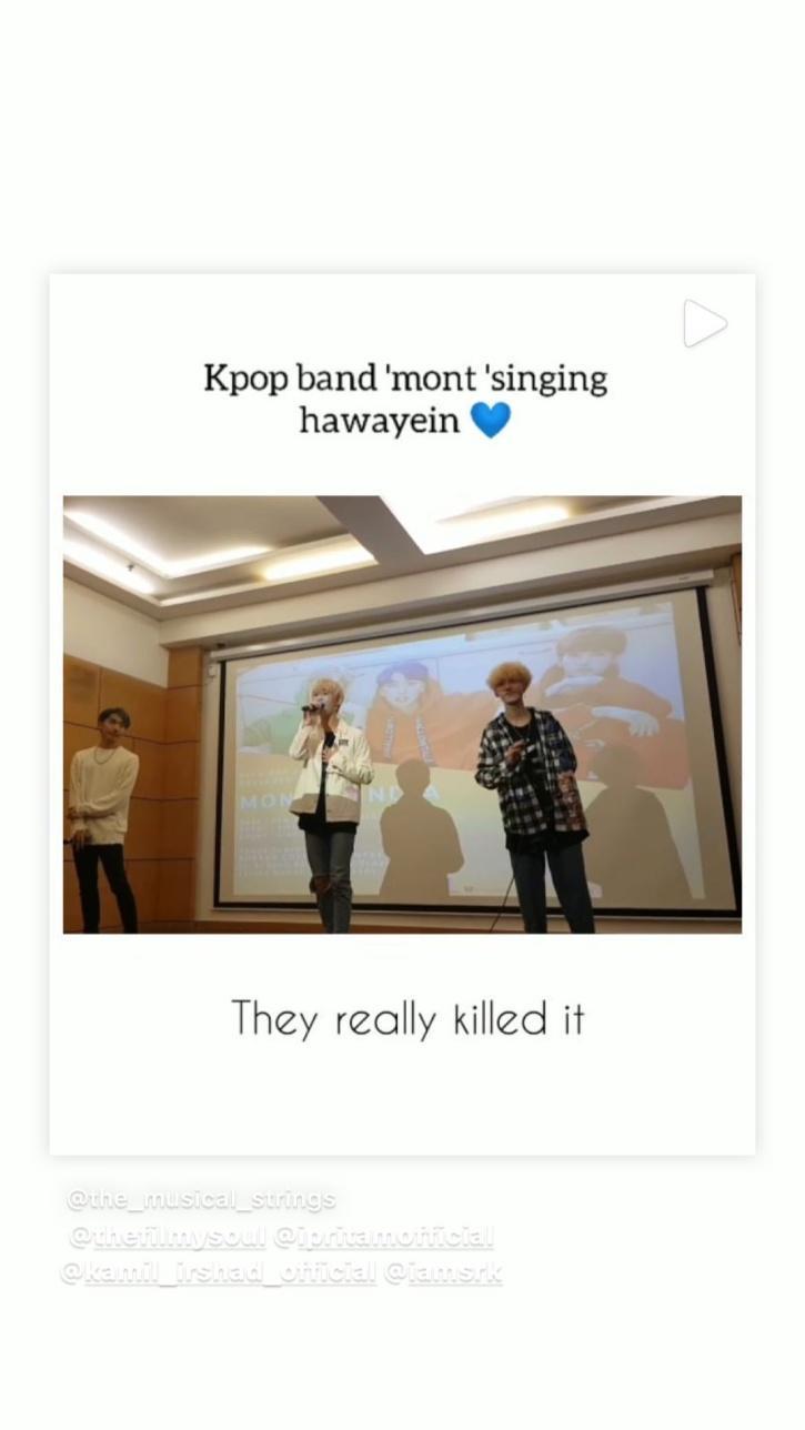 Imtiaz Ali shares Hawayein sung by K Pop band M.O.N.T.