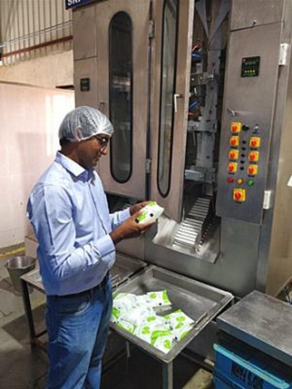 By 2018, Indukuri's dairy farm, which goes by the name of Sid's Farm after his son Sidharth, was catering to 6,000 customers in and around the city.