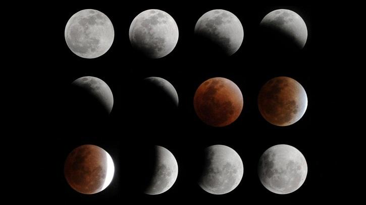 A total lunar eclipse occurs when the Moon comes under the umbral shadow of the Earth and a partial lunar eclipse occurs when only a part of the Moon comes under the umbral shadow of the Earth.