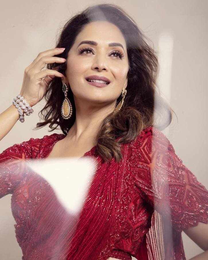 Madhuri Dixit Had Revealed How Her Kids Asked Why Is She acting Funny After They Watched Her Film Koyla