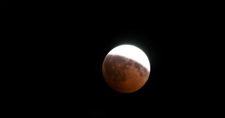 It will be a partial lunar eclipse - Lunar eclipses occur on a Full Moon day when the Earth comes in between the Sun and the Moon and when all the three objects are aligned.