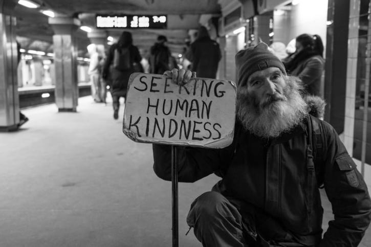 seeking kindness