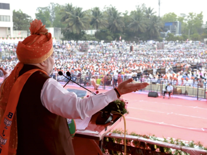 rally amit shah belagavi