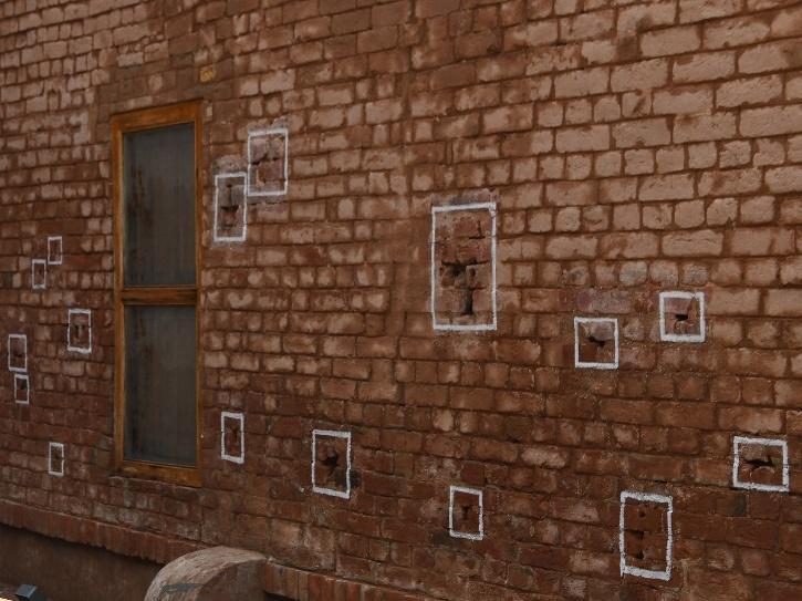Walls of Jallianwala Bagh