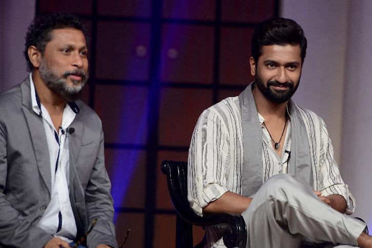 Shoojit Sircar, Vicky Kaushal at the trailer launch of Sardar Udham Singh.