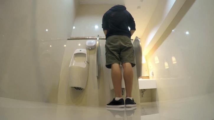 Man urinating