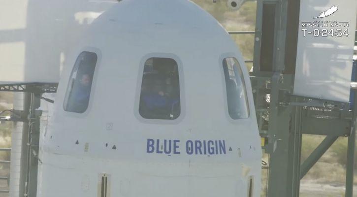 Blue origin spaceflight
