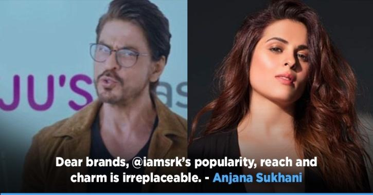The latest ones to express their solidarity towards the superstar is Ali Fazal and Anjana Sukhani. It is reported that the education platform Byju has stopped all advertisements with Shah Rukh Khan amid his son Aryan Khan's arrest.