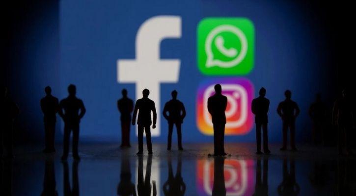 Facebook, Whatsapp, Instagram down