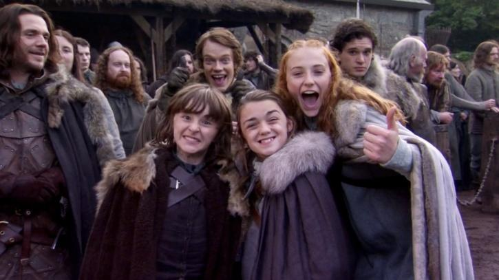 Contrary to the reel sisters they played in 'Game of Thrones,' the actresses are really close in real life.