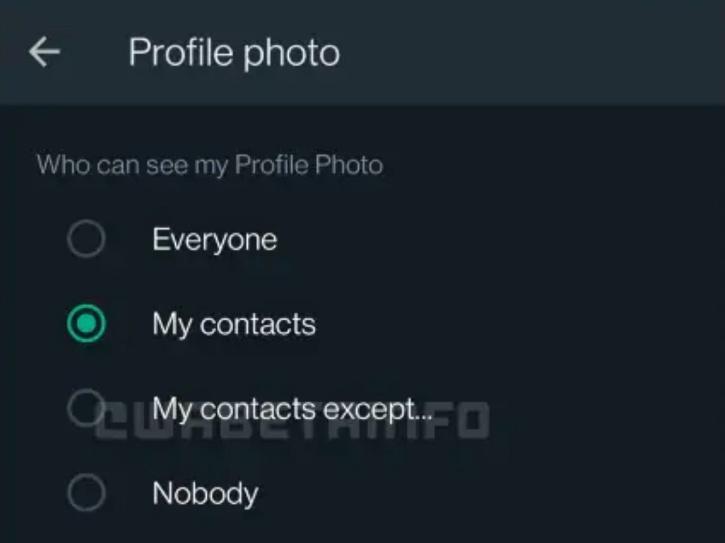 whatsapp profile photo